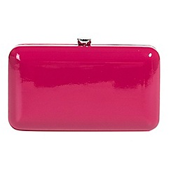 Parfois - Rose charoll party clutch