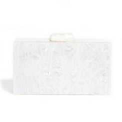 Parfois - Pearly party clutch