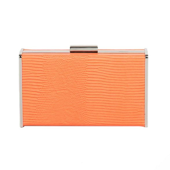 clutch Parfois Orange window bag party qxUzH
