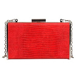 Parfois - Red window party clutch