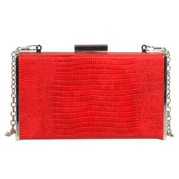 Parfois party Red clutch Parfois window Red 7qZ7n6xvdP