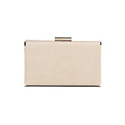 Parfois - Beige window party clutch