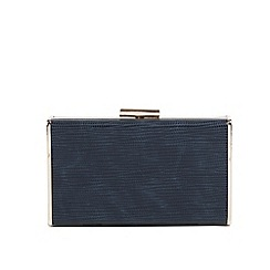 Parfois - Navy window party clutch