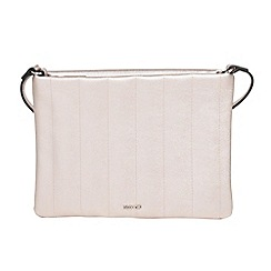 Parfois - Silver avocado cross bag