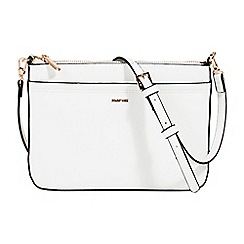 Parfois - White lalala cross bag