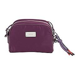 Parfois - Grape purple nylon cross body bag