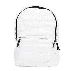 Parfois - White gym backpack