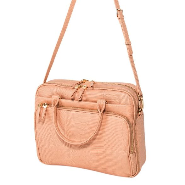 Pink Parfois briefcase oprah Parfois Pink Parfois oprah briefcase RwwIE