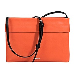 Parfois - Orange fell crossbody bag