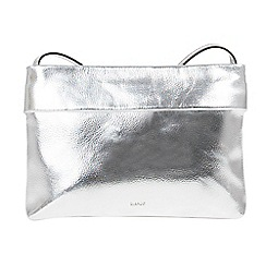 Parfois - Silver fell cross bag