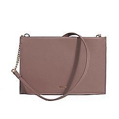 Parfois - Dark pink oblong crossbody bag