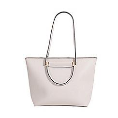 Parfois - Light cream dream girl  shopper bag