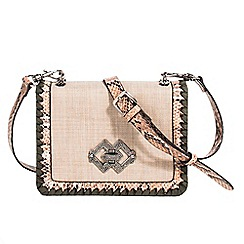 Parfois - Beige churri crossbody bag