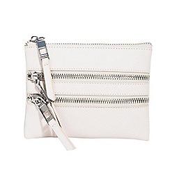 Parfois - Light cream tanger purse