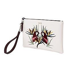 Parfois - Light cream tanger cosmetic purse