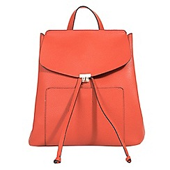 Parfois - Orange tenerife backpack