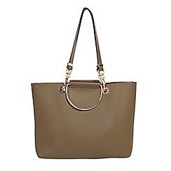 Parfois - Khaki juliette shopper bag
