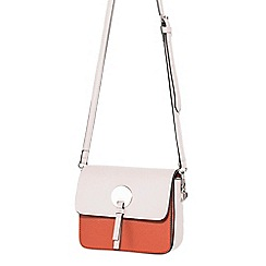 Parfois - Light cream best tangled cross bag