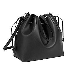 Parfois - Black tangled shopper bag