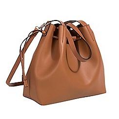 Parfois - Camel tangled shopper bag