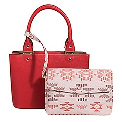 Parfois - Red tangled tote