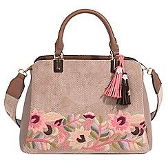 Parfois - Beige merci handbag