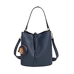 Parfois - Navy carnival handbag