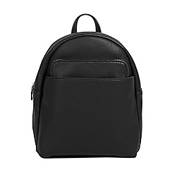Parfois - Black kangaroo backpack