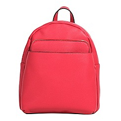 Parfois - Dark pink kangaroo backpack