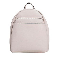 Parfois - Light pink kangaroo backpack