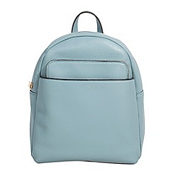 Parfois - Light blue kangaroo backpack