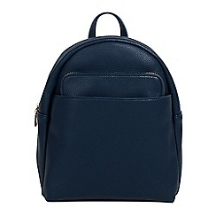 Parfois - Navy kangaroo backpack