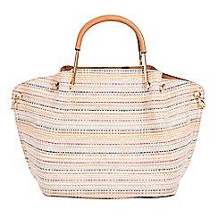 Parfois - Cream colette shopper bag