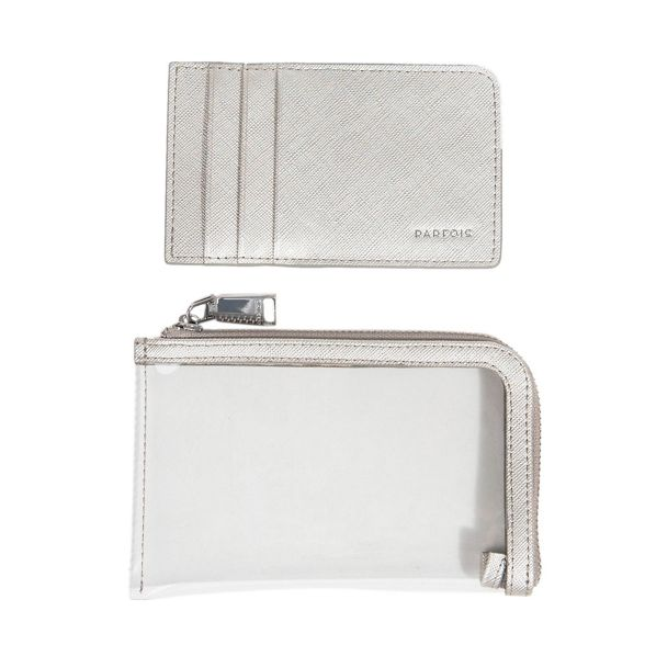 reptil basic Silver wallet Parfois document qxXE7BXnTw