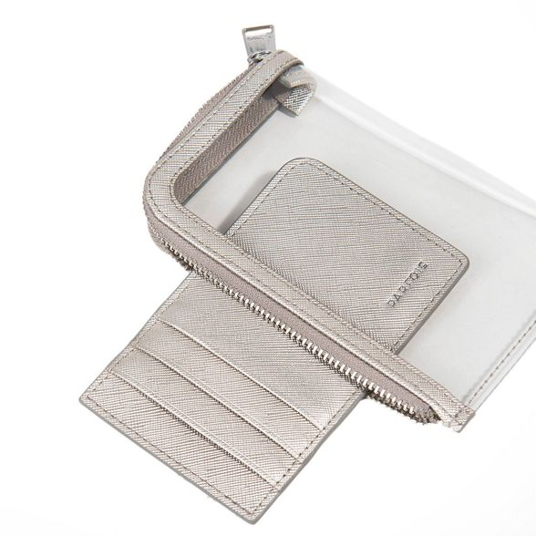 Parfois basic wallet Silver reptil document rOprwn6q5