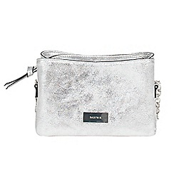 Parfois - Silver glinty cross bag