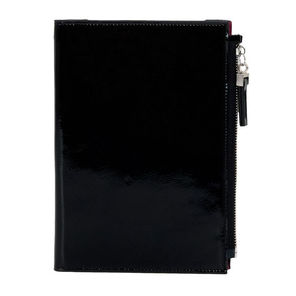 Black document holder felipin Parfois wallet vaxqwSCqp