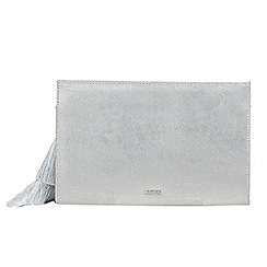Parfois - Silver milo party clutch