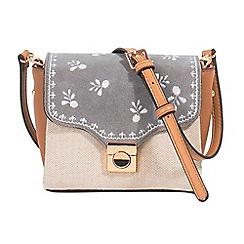 Parfois - Grey muse cross bag