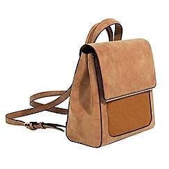 Parfois - Camel brown jacob backpack