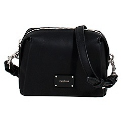 Parfois - Black puff cross bag