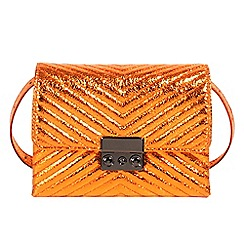 Parfois - Orange belt cross bag