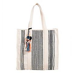 Parfois - Black tulum shopper bag