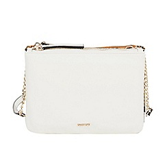 Parfois - White minima cross bag