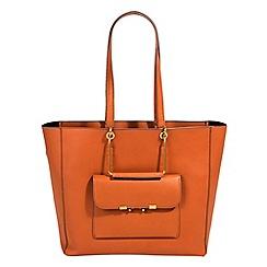 Parfois - Camel marcha shopper bag