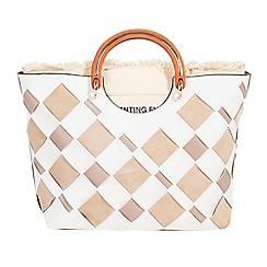 Parfois - Light cream handbag crafted blend collection