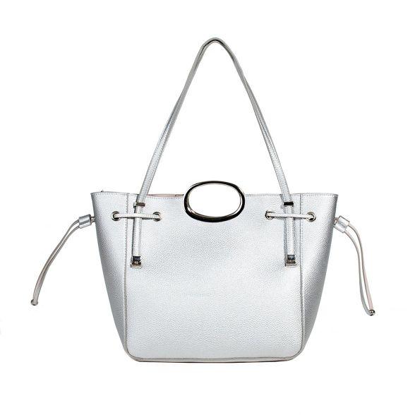 valeria handbag Parfois valeria handbag Parfois Parfois Silver handbag Parfois Silver valeria Silver 46nRBWWE