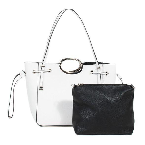 Parfois handbag Parfois White valeria White x5q1xHwZP0