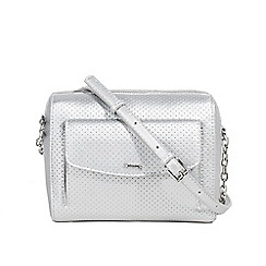 Parfois - Silver valeria cross bag