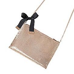 Parfois - Gold fever party clutch bag